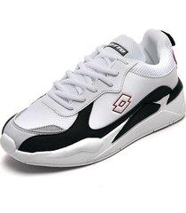 tenis lifestyle blanco-negro-gris lotto lo-marco-h3