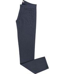 pantalón dril casual pierre d'agostiny para hombre, ref cuadros navy