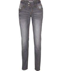 jeans elasticizzati skinny (grigio) - john baner jeanswear