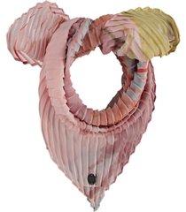 fraas brushstroke crinkle neckerchief scarf