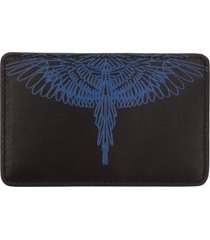marcelo burlon pictorial wings credit card holder