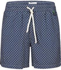 eddy monetti motif print drawstring shorts