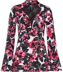 maglia con maniche lunghe a campana (bianco) - bodyflirt boutique