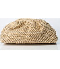 akira cutie knit stitch clutch