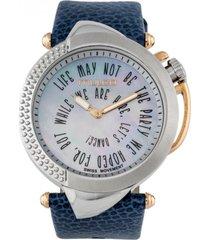 reloj be sassy azul mulco