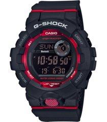 g-shock men's black resin strap watch 48.6mm