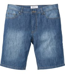 bermuda di jeans in denim estivo regular fit (blu) - john baner jeanswear