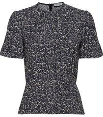 krias p blouses short-sleeved grijs tiger of sweden