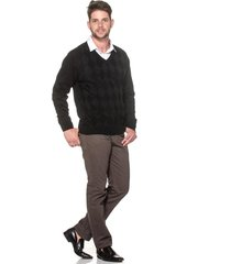 suéter passion tricot lk losango preto
