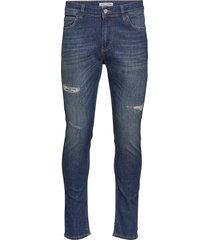 sicko collect blue skinny jeans blå just junkies