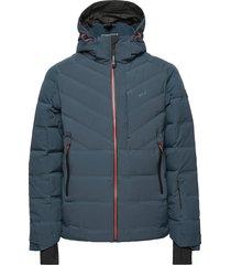 ice down pro stretch outerwear sport jackets blauw tenson