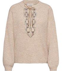 laracr knit pullover gebreide trui cream