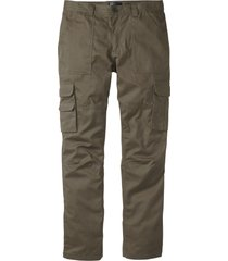 pantaloni cargo con teflon regular fit straight (verde) - bpc selection