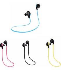 audífonos bluetooth deportivos inalámbricos, h7 auriculares inalámbricos audifonos bluetooth manos libres  sport auriculares estéreo soporta música (rojo)