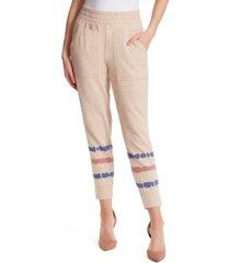 jessica simpson ryland tie-dye jogger pants