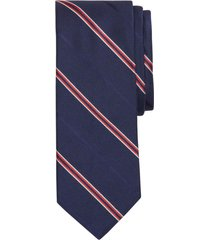 corbata hombre open stripe azul brooks brothers
