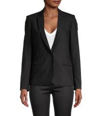 zadig & voltaire women's vedy bis embellished blazer - black - size 36 (s)