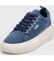 zapatilla canvas inflated azul bamers