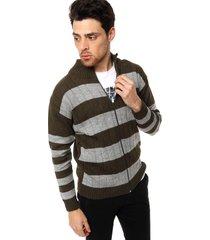 cardigan verde moni tricot