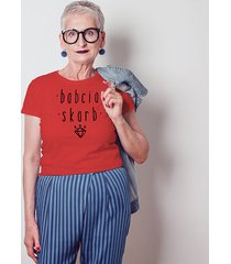 babcia skarb dopasowana koszulka