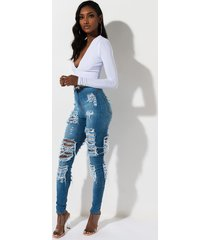 akira addicted to you high rise distressed skinny denim pants