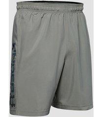 korte broek under armour graphic wordmark woven short