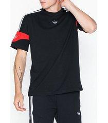 adidas originals ts trf tee t-shirts & linnen black