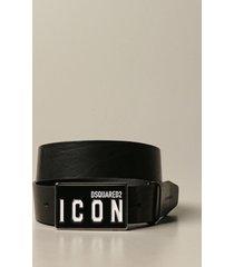 dsquared2 belt dsquared2 leather belt with logo