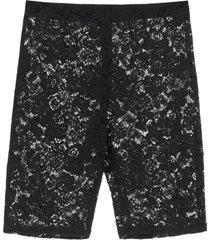 stella mccartney isla lace shorts