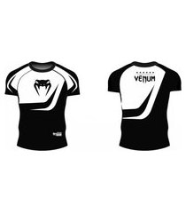 rash guard venum octagon - manga curta .