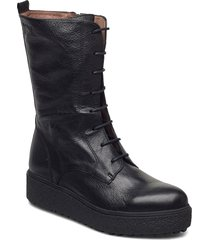 a-9507 shoes boots ankle boots ankle boot - flat svart wonders