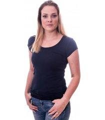 claesens women t-shirt round neck s/s navy ( cl 8015 )
