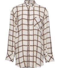 mash shirt blouse lange mouwen crème hope