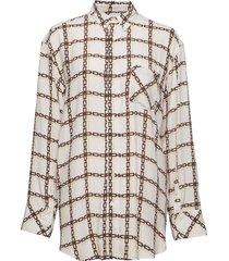 mash shirt overhemd met lange mouwen crème hope