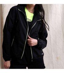 superdry women's zip pop cagoule jacket