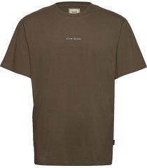 quiet t-shirt - white t-shirts short-sleeved grön forét