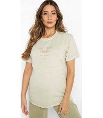 zwangerschap gebleekt next generation t-shirt