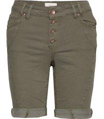 pzrosita shorts shorts denim shorts grön pulz jeans