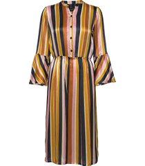 3371 - estelle dress knälång klänning multi/mönstrad sand