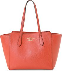 leather swing tote
