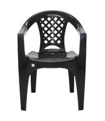 cadeira iguape tramontina 92221009 preta