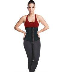 cinta modeladora waist trainer preta esbelt 062wt