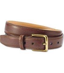 italian grain strap belt