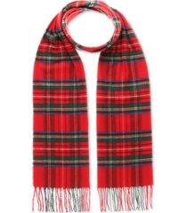 v. fraas men's patterned cashmink scarf
