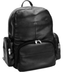 "mcklein cumberland 15"" dual compartment laptop backpack"