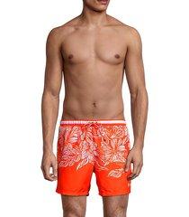 barracuda floral swim shorts