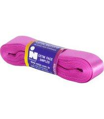 fita de cetim nº05 22mm peça com 10m rosa pink