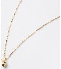 loft lemon charm necklace