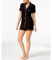 cosabella bella satin-trim short pajama set amore9621, online only