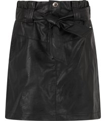 alberta ferretti black skirt for girl with logo